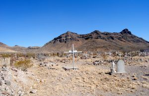 Concordia Cemetery in Shafter, Texas by Kathy Weiser-Alexander.