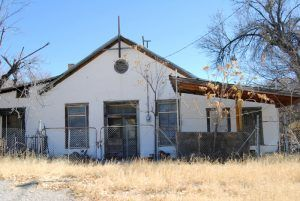 A house in Shafter, Texas today.