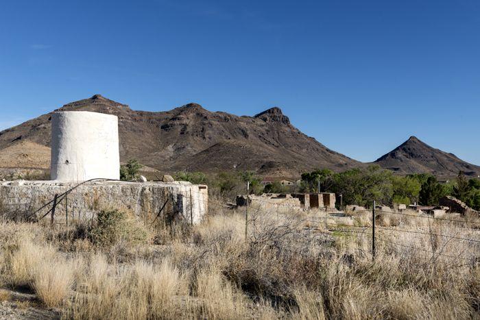 Shafter, Texas Mining Remains by Carol Highsmith.