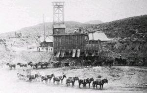 Shafter, Texas Silver Mine, 1890s.