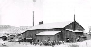 Mill at the Shafter, Texas Mine, 1890s.