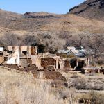 Shafter, Texas Mining Ruins by Kathy Weiser-Alexander.