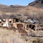 Shafter, Texas Mining Ruins by Kathy Weiser-Alexander.