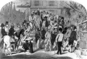 Slave Sale, Charleston, south Carolina, 1856.