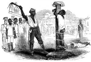 Punishing a Slave.