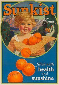 California Sunkist Oranges