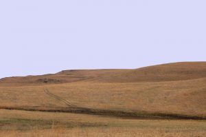 Landscape in the area of Carneiro, Kansas by Kathy Weiser-Alexander.