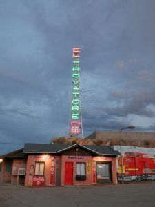 El Trovatore Motel in Kingman, Arizona by Judy Hinkley.