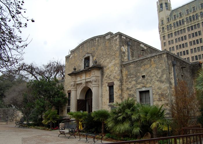 Alamo Museum and Visitor's Center by Dave Alexander.