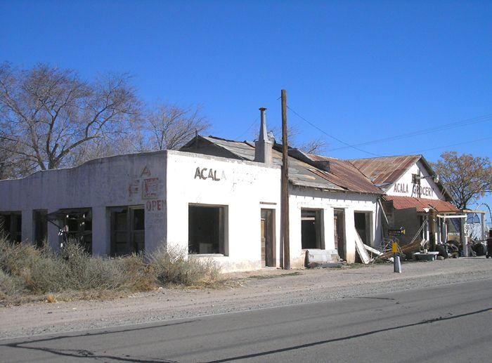 Alcala, Texas Buildings by Kathy Weiser-Alexander.