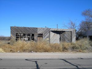 Old building in Acala, Texas by Kathy Weiser-Alexander.