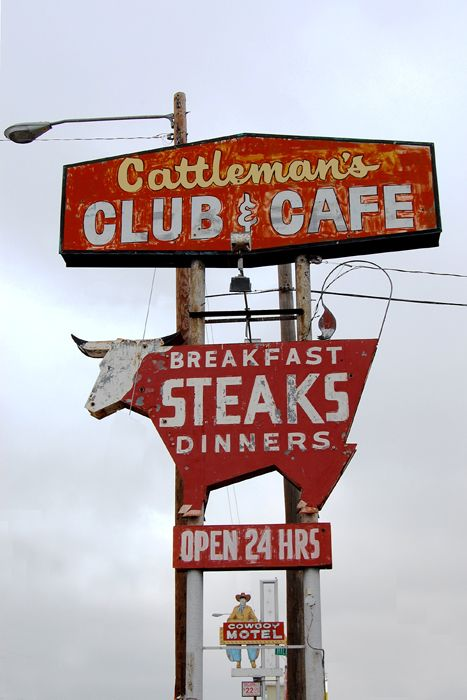 The Cattlemen's Club in Amarillo, Texas has been doing business for decades. By Kathy Weiser-Alexander.