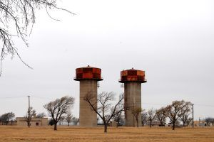 Old Amarillo, Texas Airforce Base by Kathy Weiser-Alexander.