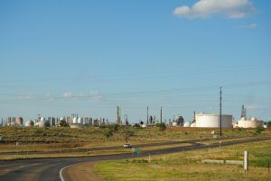 Though the town of Phillips is gone today, the plant still operates. By Kathy Weiser-Alexander.