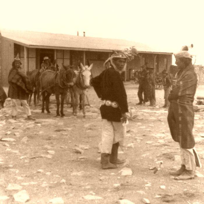 Canyon Diablo, Arizona Trading Post, 1903.