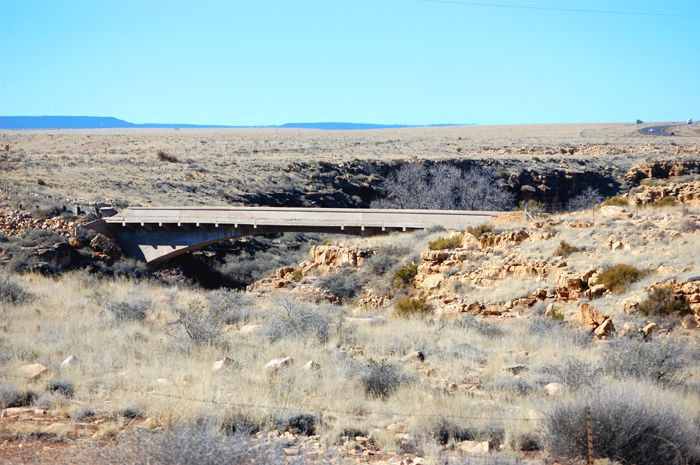 Bridge over Canyon Diablo along the National Old Trails Highway by Dave Alexander.