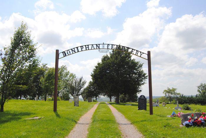 Doniphan, Kansas Cemetery by Kathy Weiser- Alexander.