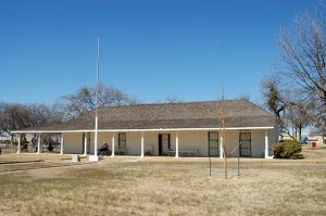 Headquarters Museum at Fort Duncan, Texas by Kathy Weiser-Alexander.