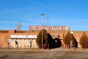 Fort Courage at Houck, Arizona by Kathy Weiser-Alexander.
