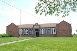 A closed school in Huron, Kansas by kathy Weiser-Alexander.