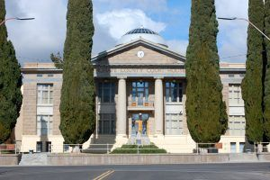 Mohave County Courthouse in Kingman, Arizona by Kathy Weiser-Alexander.