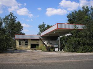 An old gas station in Lela, Texas by Kathy Weiser-Alexander.