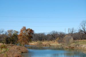 San Saba River at Menard, Texas by kathy Weiser-Alexander.