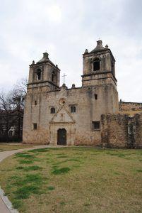 Mission Concepcion, San Antonio, Texas by Kathy Weiser-Alexander.