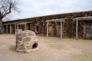 Indian Homes at Mission San Jose, San Antonio, Texas by Kathy Weiser-Alexander.