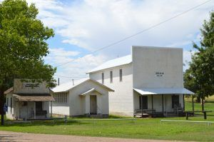 Old Mobeetie, Texas buildings by Kathy Weiser-Alexander.