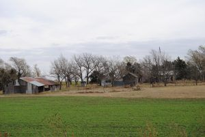 An old homestead near Parkerville, Kansas by Kathy Weiser-Alexander.
