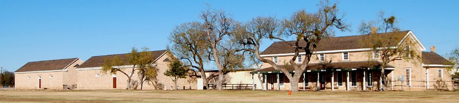 Fort Concho in San Angelo, Texas by Kathy Weiser-Alexander.
