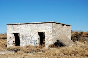 An old building in Shuma, Texas by Kathy Weiser-Alexander.
