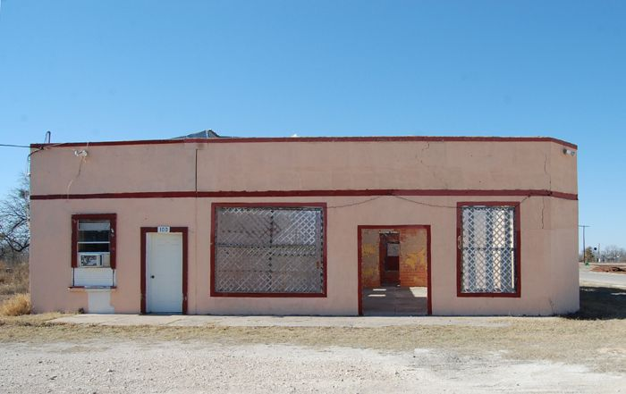 An old business building in Spofford, Texas by Kathy Weiser-Alexander.