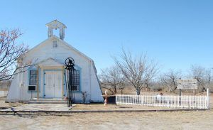 The St. Blaise Catholic Church in Spofford, Texas was founded in 1913 and still hold services today, by Kathy Weiser-Alexander.