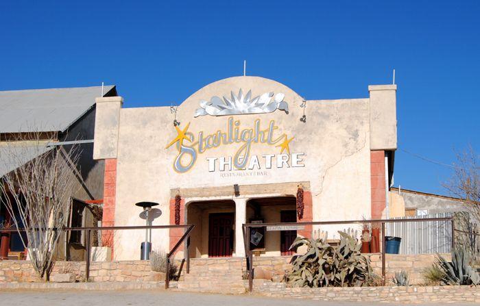 Starlight Theatre in Terlingua, Texas by Kathy Weiser-Alexander.