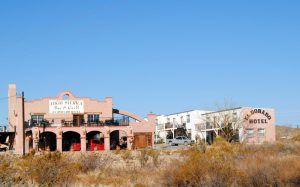 The Eldorado Hotel in Terlingua, Texas by Kathy Weiser-Alexander.