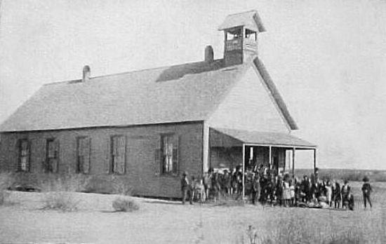 Toyah, Texas School, 1911.