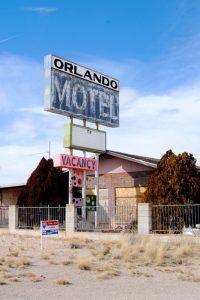 The old Orlando Motel in Truxton, Arizona by Kathy Weiser-Alexander.