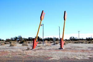 Twin Arrows, Arizona by Kathy Weiser-Alexander.