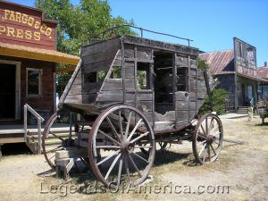 Stagecoach in South Dakota