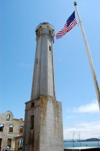 Alcatraz Lighthouse by Kathy Weiser-Alexander.