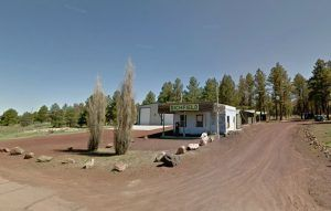 The old Pine Breeze Inn in Bellemont, Arizona courtesy Google Maps.