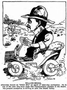 Alkali Bill Brong by the Los Angeles Times, May 1907.