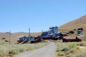 Standard Mine and Mill in Bodie, Arizona by Kathy Weiser-Alexander.