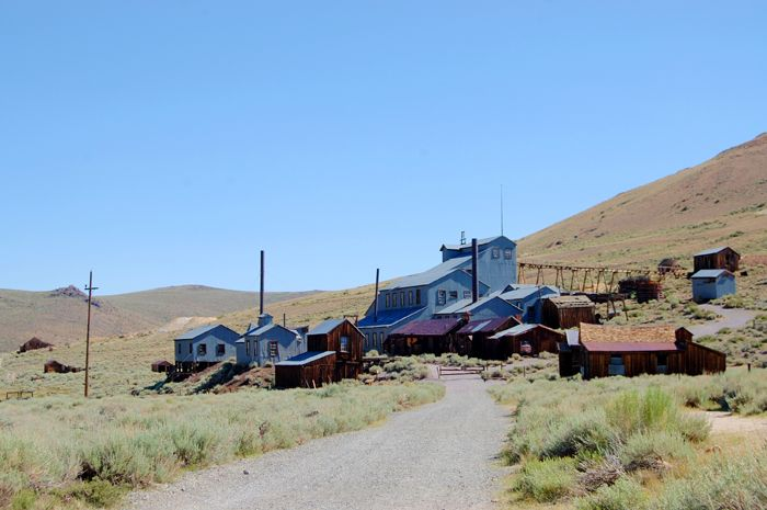 Standard Mine and Mill in Bodie, Arizona by Kathy Weiser-Alexander.