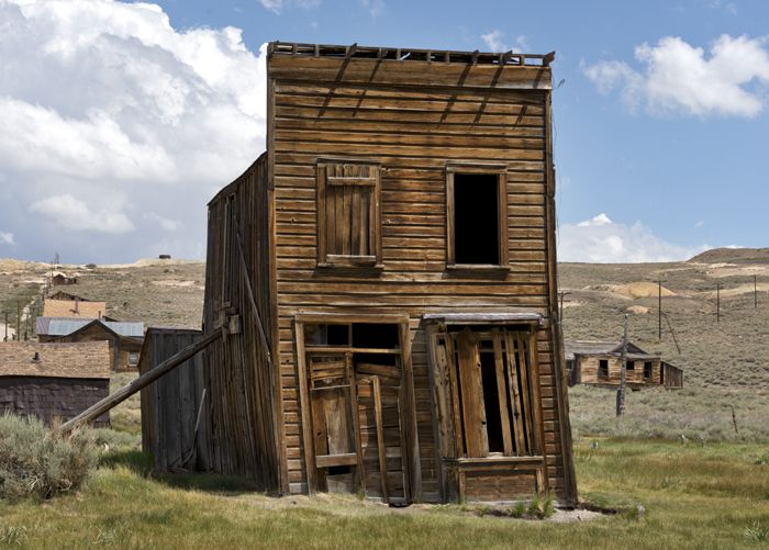 The old Swazey Hotel in Bodie, California by Carol Highsmith.