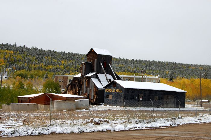 The Boodle Mill in Central City, Colorado still stands today by Kathy Weiser-Alexander.