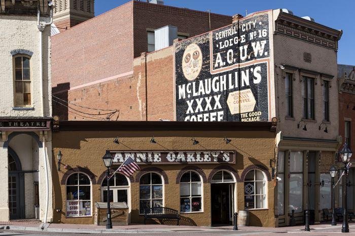 Annie Oakley's Emporium in Central City Colorado, by Carol Highsmith.