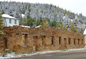 Central City, Colorado Ruins by Kathy Weiser-Alexander.